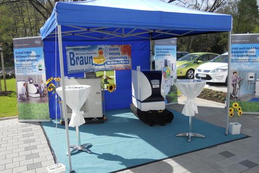 Wärmepumpentag2012 im EBZ in Pforzheim mit der Firma MHG